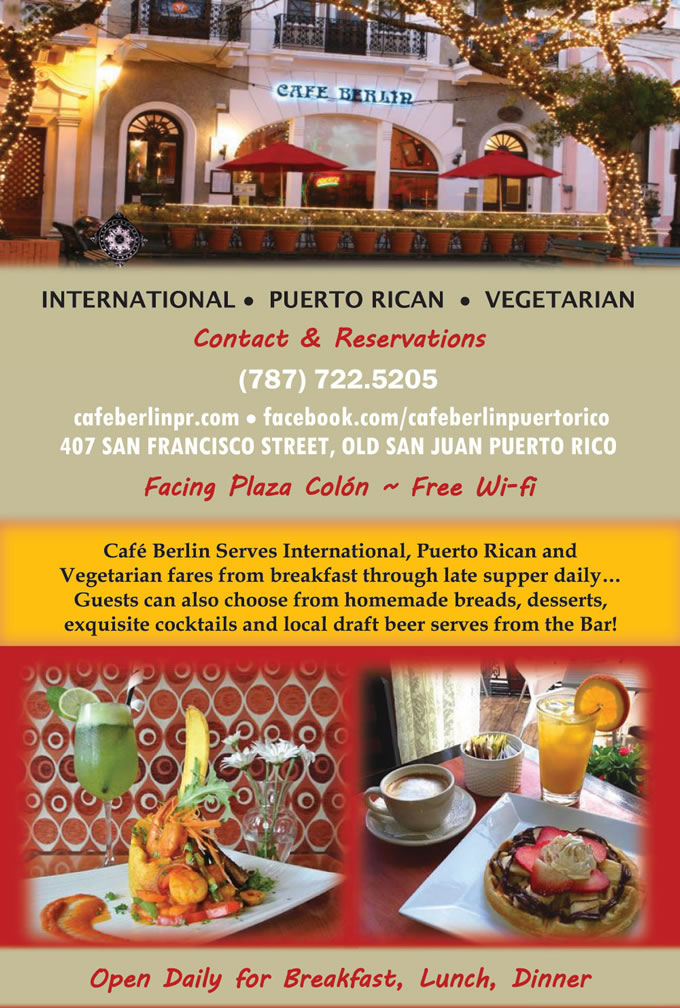 Welcome To Cafe Berlin Puerto Rican Cuisine Vegetarian