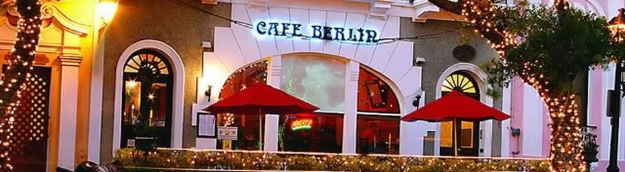 Cafe Berlin Vegetarian International Restaurant Old San Juan Puerto Rico